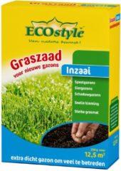 ECOstyle Graszaad-Inzaai - 250 g - voor het inzaaien van een nieuw gazon - voor 12,5 m2