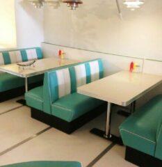 Bel Air Bel-Air Retro Diner Set Turquoise