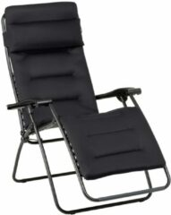Grijze Lafuma RSX XL Clip Air Comfort - Relaxstoel - Verstelbaar - Inklapbaar - Zero Gravity - Acier