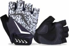 Zilveren HANDT Bike sporthandschoenen - Silver - XXL