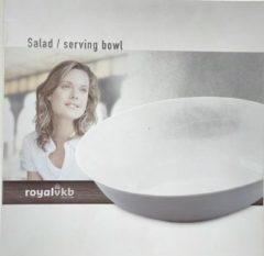 Royal VKB Royalvkb Porselein Witte Salade Schaal - diameter 23 cm