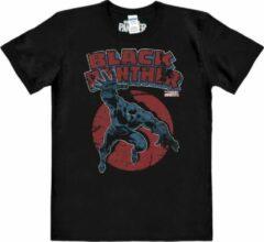 Zwarte Hybris Heren T-shirt Maat L