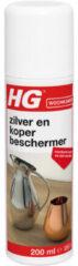 HG zilver en koper beschermer - 200ml - ook voor messing en brons