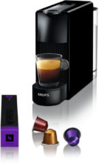 Zwarte Krups Essenza Mini Piano Black XN1108 Nespresso machine