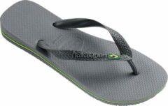 Licht-grijze Havaianas Brasil Slippers Slippers - Maat 39/40 - Unisex - grijs