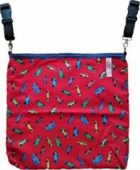 Giggles 'n Grumbles Giggles 'n Grumbles HotchPotchPouch – Kinderwagentas Universeel - Rood Auto