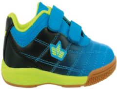 Sportschuh Lico blau/schwarz/lemon