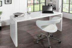 Interieurs online Moderne Bureau Hoogglans wit - 160cm