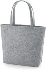 Senvi - Luxe Shopper - Kleur Grijs/Melee