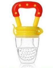 Fruitspeen baby - oranje | Babyspeen | Sabbelspeen | Sabbelzakje | Fruit | Gezonde speen | Kidzstore.eu