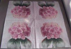 Sagen Vintage Design, Hortensia papieren servetten