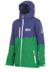 Picture Organic Clothing Picture Kids Tommy snowboardjas donker blauw groen