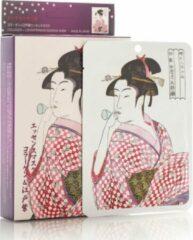 Witte Mitomo Japan Mitomo™ Collageen & Lithospermum Gezichtsmasker - Anti Aging Face Mask - Gezichtsverzorging Masker