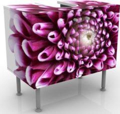 PPS. Imaging Waschbeckenunterschrank - Aster - Blumen Badschrank