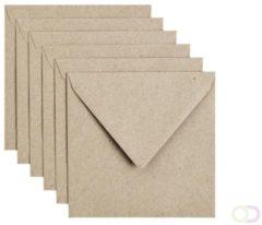 Papicolor Envelop Formaat 140 X 140 Mm Kleur Recycling Grijs