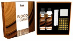 Zwarte Onderhoudsmiddel First Class Wood Wax & Oil Kit 120104