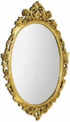 Sapho Desna ovale barok spiegel goud 80x100