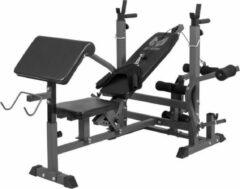 Zwarte Gorilla Sports Gyronetics Universele Halterbank - Verstelbaar - Belastbaar tot 280 kg