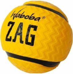 Waboba Splashbal Zag 9 Cm Foam Geel/zwart
