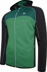 Dare 2b Outdoorvest Ratified Ii Heren Jersey Zwart/groen Maat L