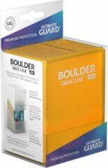 Ultimate Guard Boulder Deck Case 80+ Standard Size Amber