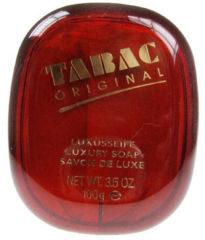 Tabac Original badzeep in plastic doosje 100 Gram