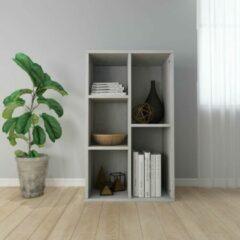 Merkloos / Sans marque Boekenkast 45x25x80cm Grijs (Incl Magazine Houder) - Boeken kast - Boekenrek - badkamer rek - Woonkamer rek