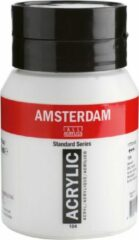 Witte Talens Amsterdam Acrylverf 500 ml Zinc White