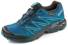 XT Calcita GORE-TEX Herren Outdoorschuh Wanderschuhe Schnür Schuhe blau Salomon Blau