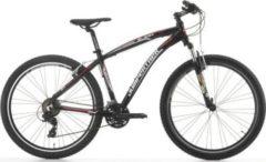 27,5 Zoll Cinzia Sleek Mountainbike Aluminium 21... schwarz-rot, 39 cm