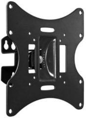 Zwarte Wentronic Goobay - Kantelbare en draaibare muurbeugel - Geschikt voor tv's van 17 t/m 42 inch