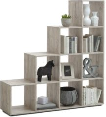 FD Furniture Open Boekenkast Mega 2 - Zand Eiken