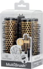 Gele Olivia Garden MultiBrush Borstel Set kit 26mm Size: S