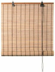 Xenos Rolgordijn bamboe - lichtbruin - 60x180 cm