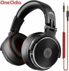Zwarte OneOdio Studio Pro 50 - Dj Pro headphone - Over-ear koptelefoon - hoofdtelefoon - dj set - kop telefoon - professionele koptelefoon - muziek studio - dj set mengpaneel - dj Headphones
