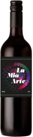 Afbeelding van La Mia Arte Merlot, 2018, Sicilië, Italië, Rode wijn