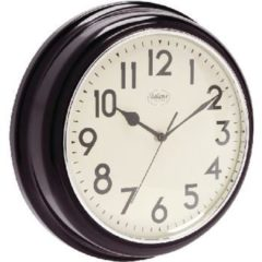 Licht-grijze Balance Wall Clock 32 cm Analogue Black/White