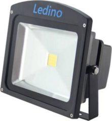 Ledino LED-Flutlichtstrahler in Schwarz mit Epistar LEDs, 30 W, kaltweiß