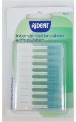 Rident Interdental brushes soft rubber 40 Stuks