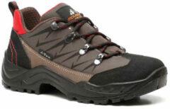 Mountain Peak leren dames wandelschoenen - Bruin - Maat 41