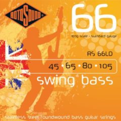Rotosound Bas snaren RS66LD 4er 45-105 Swing bas 66, Stainless Steel