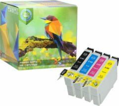 Cyane Ink Hero - 4 Pack - Inktcartridge / Alternatief voor de Epson T0445 T0441 T0442 T0443 T0444 Stylus C84 C84 Photo Edition C84N C84WN C86 C86 CX4600 CX6400 CX6600 44