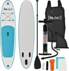 In.tec Opblaasbaar SUP Board met accessoires - turquoise