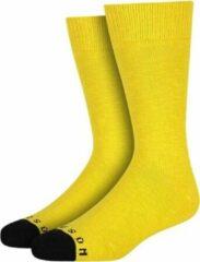 Gele Heroes on Socks Andrew Sokken Yellow maat 41-46