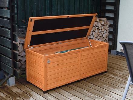 Afbeelding van Weka tuinkussen opbergbox 195 naturel 150x56cm
