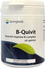 Springfield B-Quivit B Complex - 100 gr - Poeder - Vitaminen