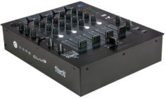 Zwarte Dap CORE Club 4 kanaals DJ mixer bluetooth
