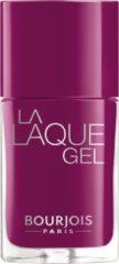 Paarse Bourjois La Laque Gel - 010 Beach Violet - Gel Nagellak