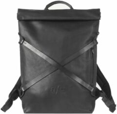 """Zwarte Aunts & Uncles Japan Osaka Backpack with Notebook Compartment 15"""" black backpack"""