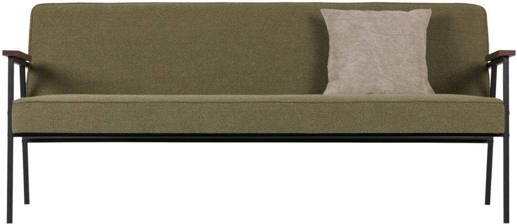 Afbeelding van WOOOD Exclusive Elizabeth 2,5 zits sofa olijfgroen olijfgroen
